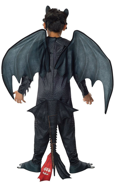 Rubie's Official Dreamworks How to Train Your Dragon 2 Toothless Night Fury, Children Costume - Medium
