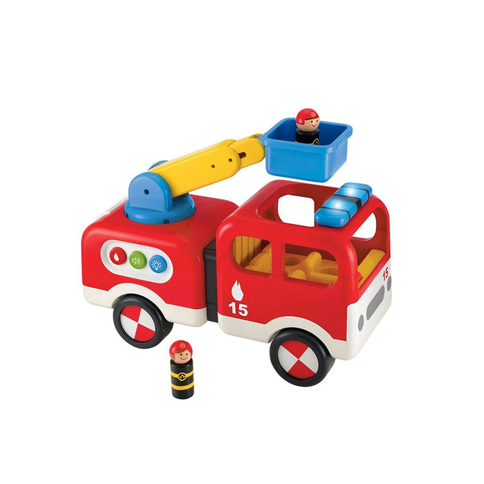 Early Learning Centre Figurines (Whizz world Fire Engine)