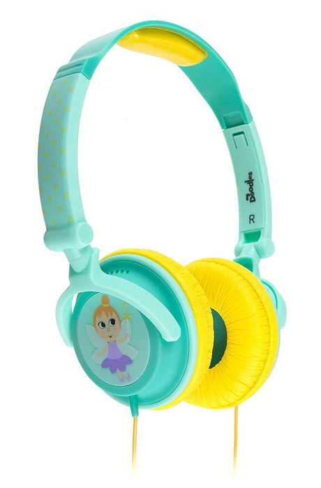 My Doodles 85 dB Fairy Children Noise Limiting On-Ear Headphone