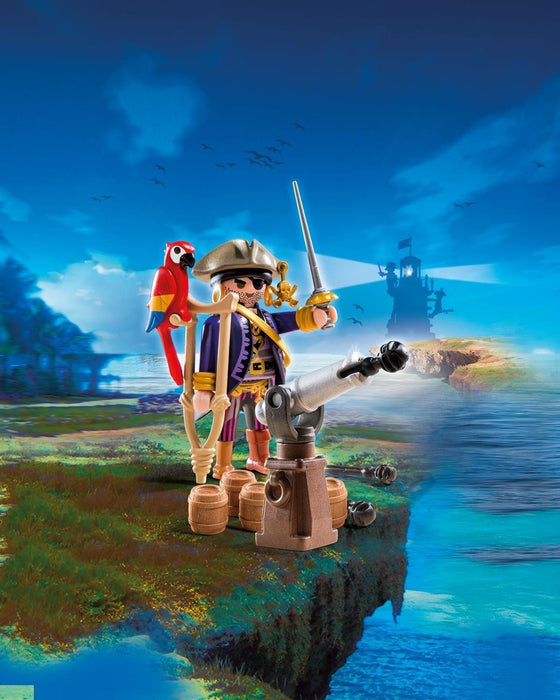 Playmobil 6684 Pirate Captain - Multi-Coloured
