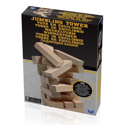 Spinmaster 6033149 Wooden Jumbling Tower