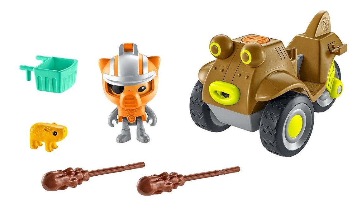 Octonauts DTM38 Gup-M and Kwazii Playset
