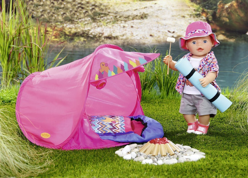 "Baby Born 823767 ""Play and Fun"" Deluxe Camping Outfit"