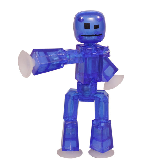 Toy Shed StikBot Figure (Dark Blue)