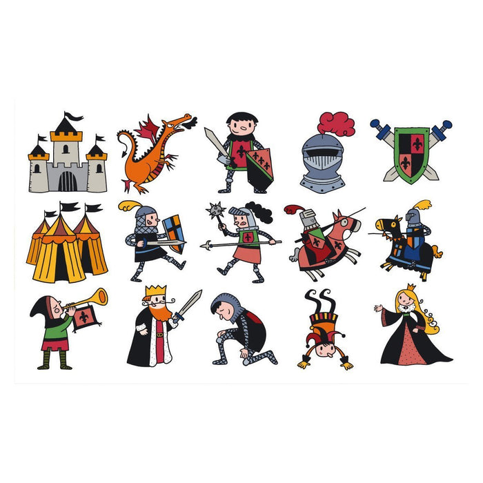 "Aladine ""Stampo Kids"" Knights Stamp Set (15-Piece)"