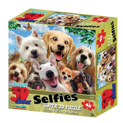 Howard Robinson HR10539 Super 3D Selfies Dogs (48-Piece)
