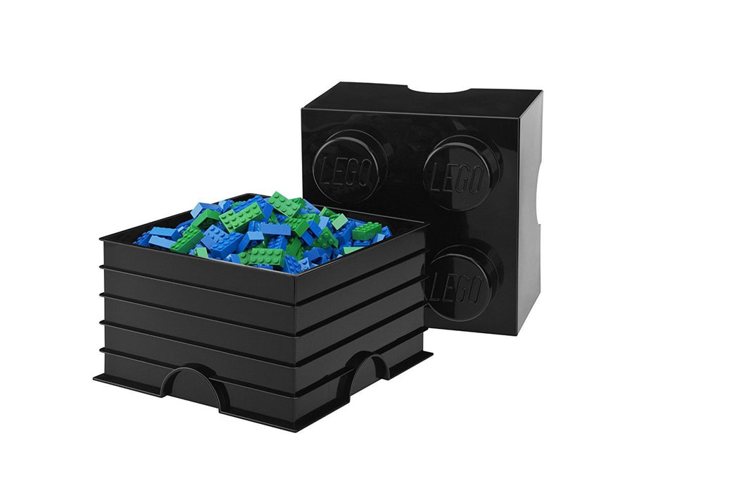 Lego 4003 Storage Brick 4 Medium Blue