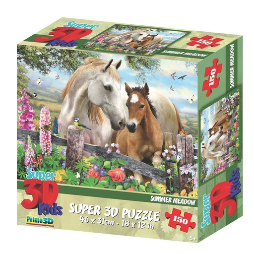 "Howard Robinson HR10827 ""Super 3D Summer Meadow"" Puzzle (150-Piece)"