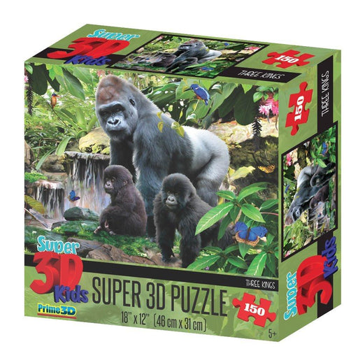 "Howard Robinson HR10805 ""Super 3D Three Kings"" Puzzle (150-Piece)"