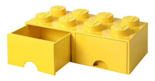LEGO L4006Y.00 Yellow Storage Brick 8 with Drawers