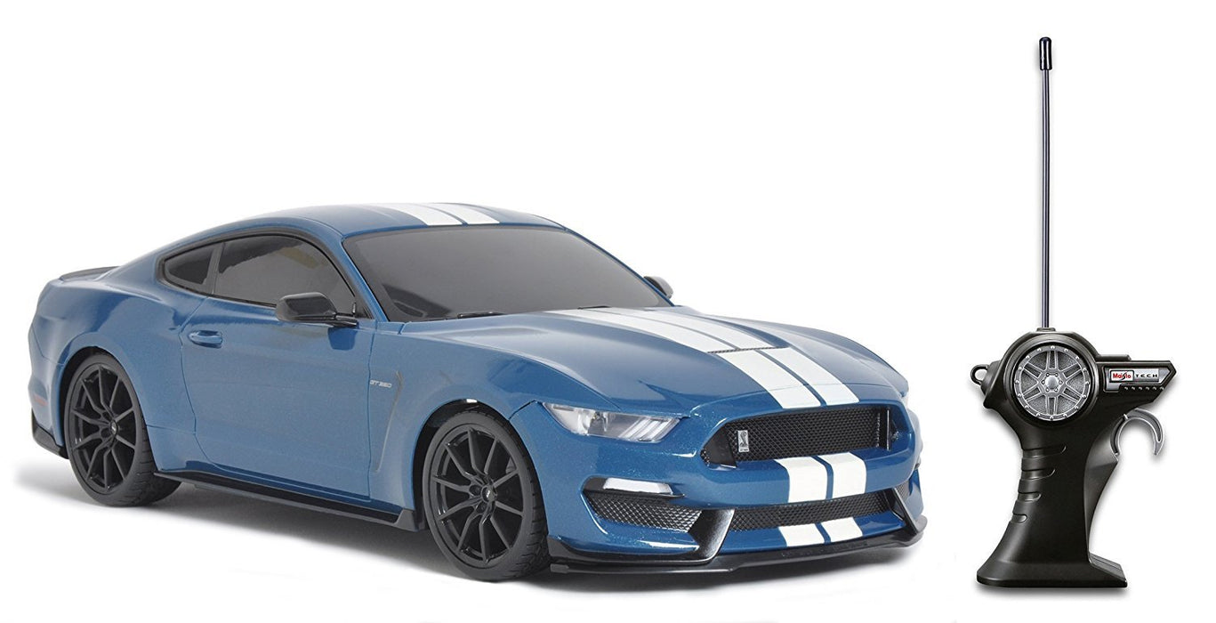 "Maisto 81248 1:14 Scale ""Ford Shelby Gt350"" Remote Controlled Toy Car with Controller"