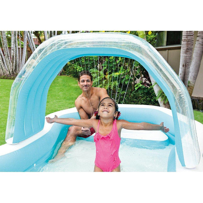 "Intex Family Cabana Swim Center Pool, 122"" x 74"" x 51"", for Ages 3+"