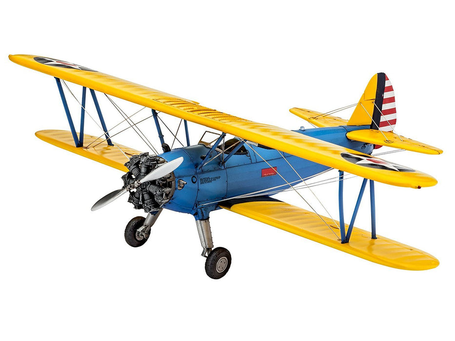 "Revell GmbH 03957 1:48 Scale ""Stearman PT-17 Kaydet"" Plastic Model Kit"