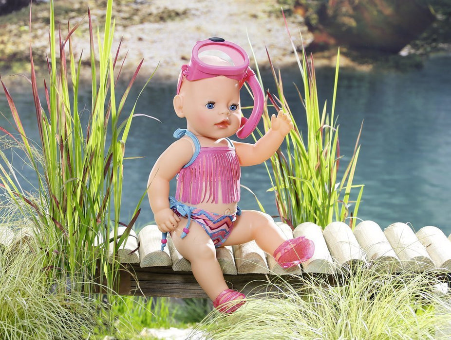 "Baby Born 823750 ""Play and Fun Deluxe At The Lake"" Outfit"