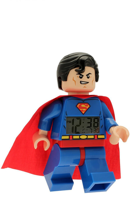 Lego Children's Super Heroes Clock 9005701
