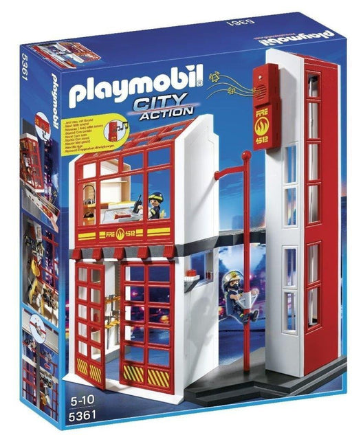 Playmobil 5361 City Action Fire Brigade Station