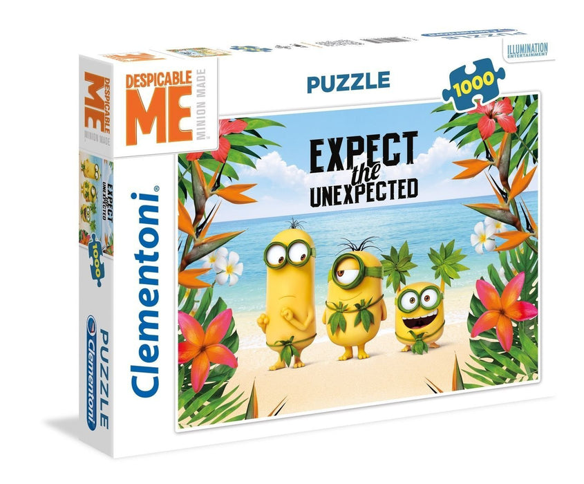 "Clementoni 39374.9 ""Expect The Unexpected Minions"" Puzzle (1000-Piece)"