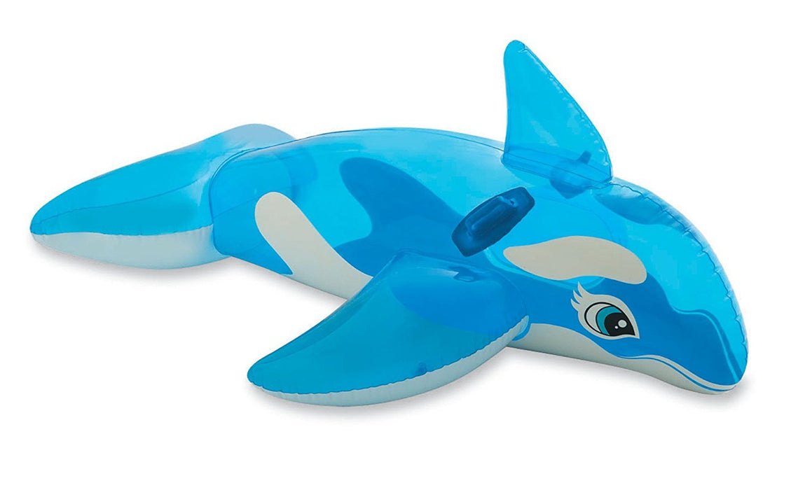 "Intex Lil' Whale Ride-On, 60"" X 45"", for Ages 3+"