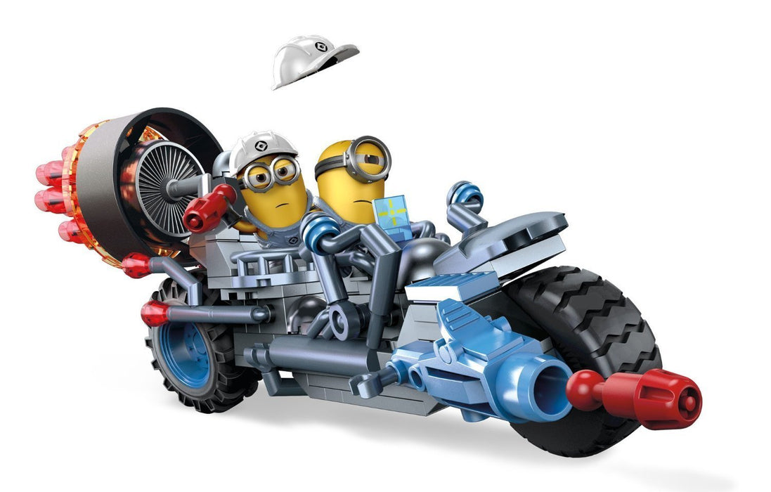 Mega Bloks Despicable Me Motorcycle Mayhem Building Kit