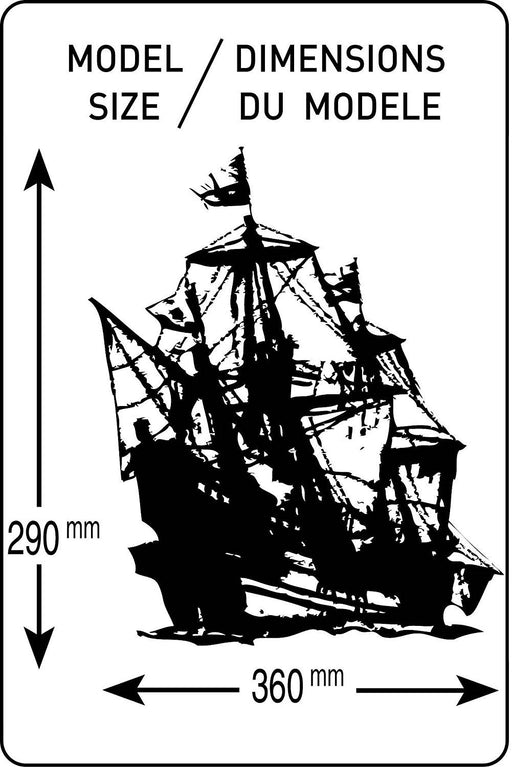 Heller 80829 Model Kit Golden Hind