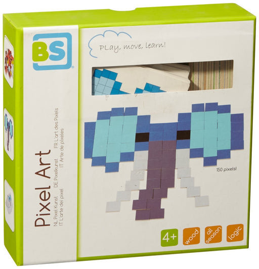 BS GA292 Pixel Art Learning Toy, Green