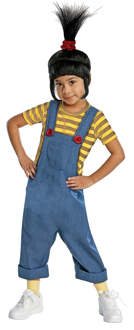 Rubie's Official Children's Agnes - Deluxe - Despicable Me2  - Fancy Dress Costume, 117 cm - Small