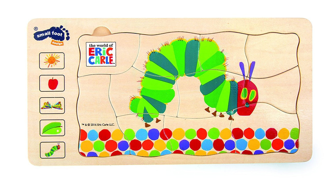 Small Foot Design 10431 - The Very Hungry Caterpillar Puzzle