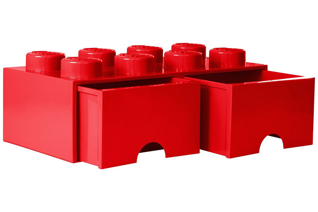 LEGO L4006R.00 Red Storage Brick 8 with Drawers