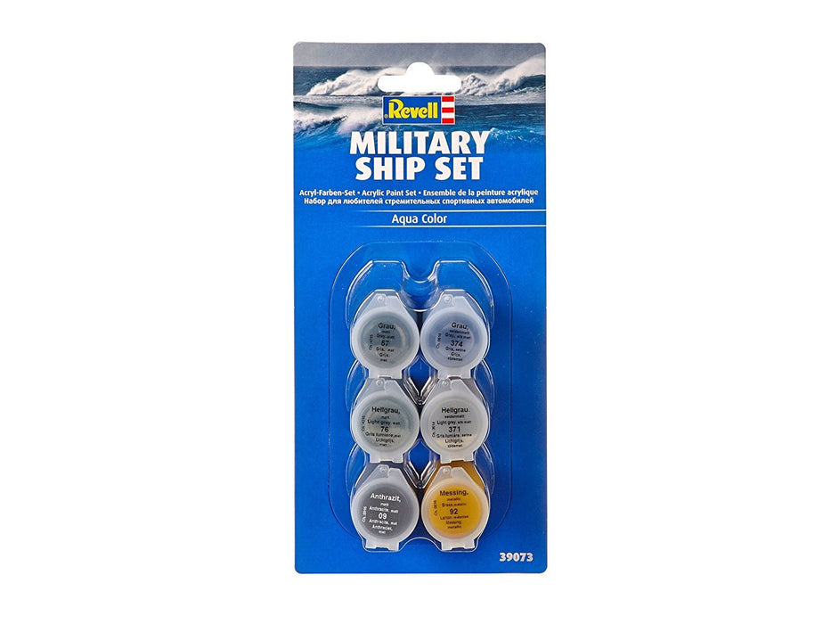 Revell GmbH 39073 Military Ship Acrylic Paint Set — Top Toy