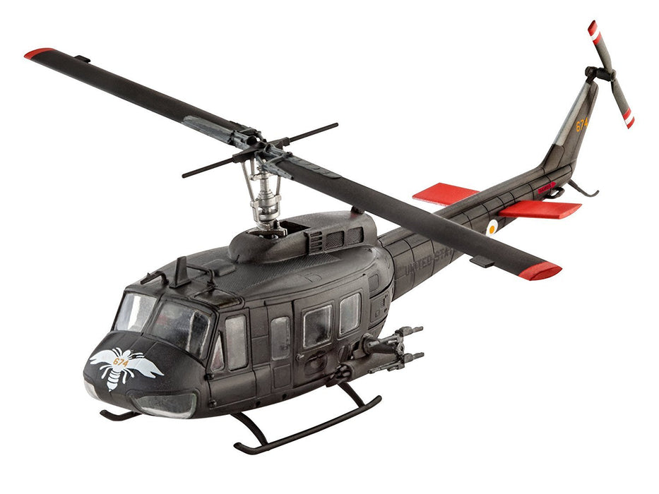 "Revell GmbH 04983 1:100 Scale ""Bell UH-1H Gunship"" Plastic Model Kit"