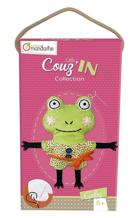Avenue Mandarine Little Couz\'IN Gaby the Frog