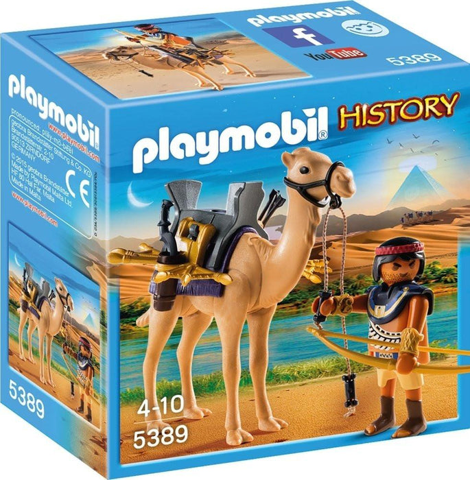 "Playmobil 5389 ""History Egyptian Warrior with Camel"" Playset"