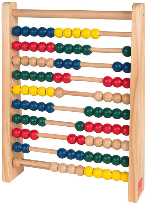 Goula D51354 10 x 10 Wooden Abacus