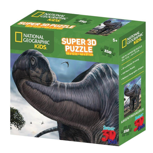 "National Geographic NG10810 ""Kids Super Argentinosaurus"" 3D Puzzle (150-Piece)"