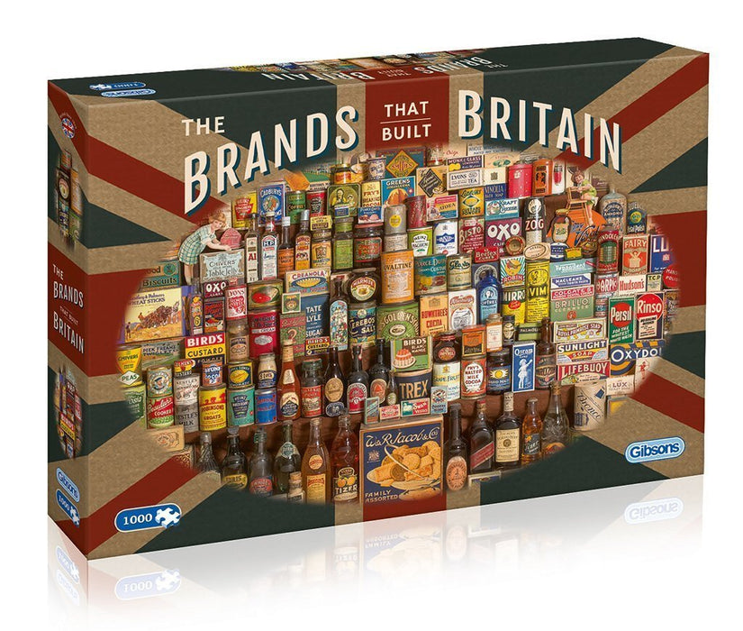 Gibsons The Brands that Build Britain Jigsaw Puzzle (1000-Piece)