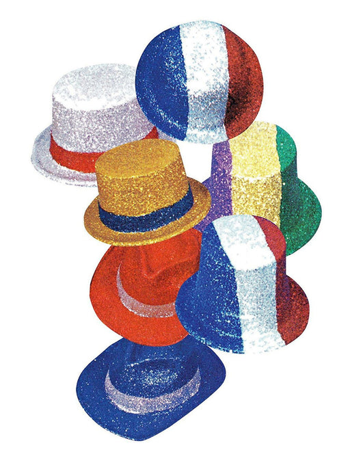 Hello - 5 SEPTEMBER Color Cylinder Hats, Bowler Glitter, Themes and Assorted Colours