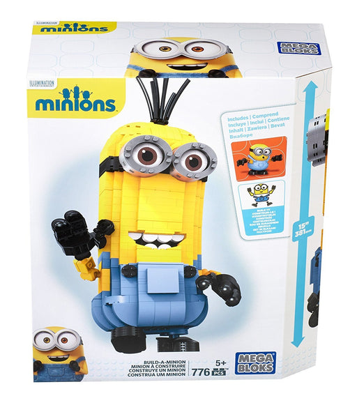 Mega Bloks Build-a-Minion Toy