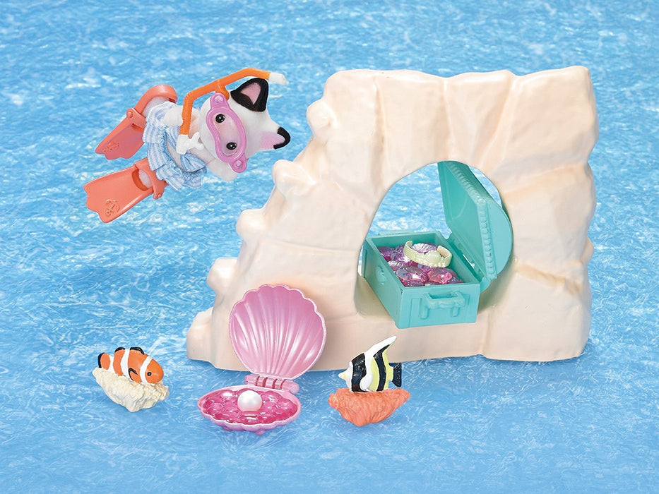 Sylvanian Families Seaside Treasure Set