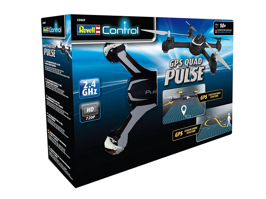 "Revell Control 23887 ""Pulse GHz 4CH""GPS Quadcopter"