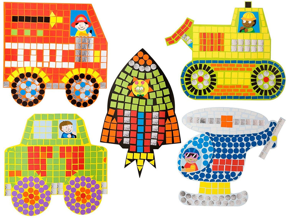 Alex Toys Early Learning Zoom Zoom Mosaic Little Hands