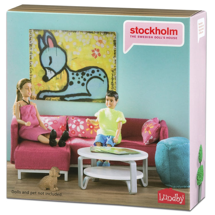 LUNDBY Stockholm Sitting Room Playset