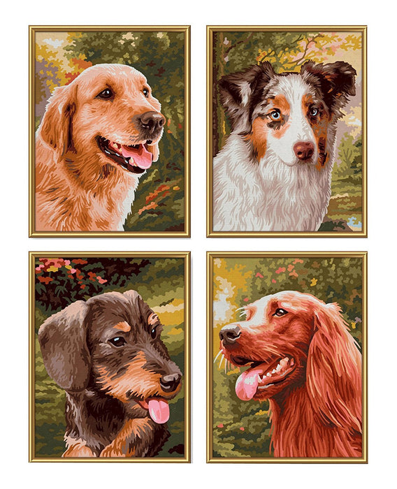 "Schipper 609340594 ""Faithful Companions Quattro"" Paint By Numbers Board"