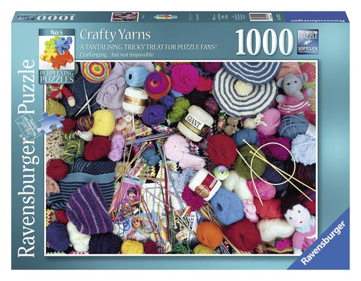 Ravensburger Perplexing Puzzles No.5 - Crafty Yarns 1000pc Jigsaw