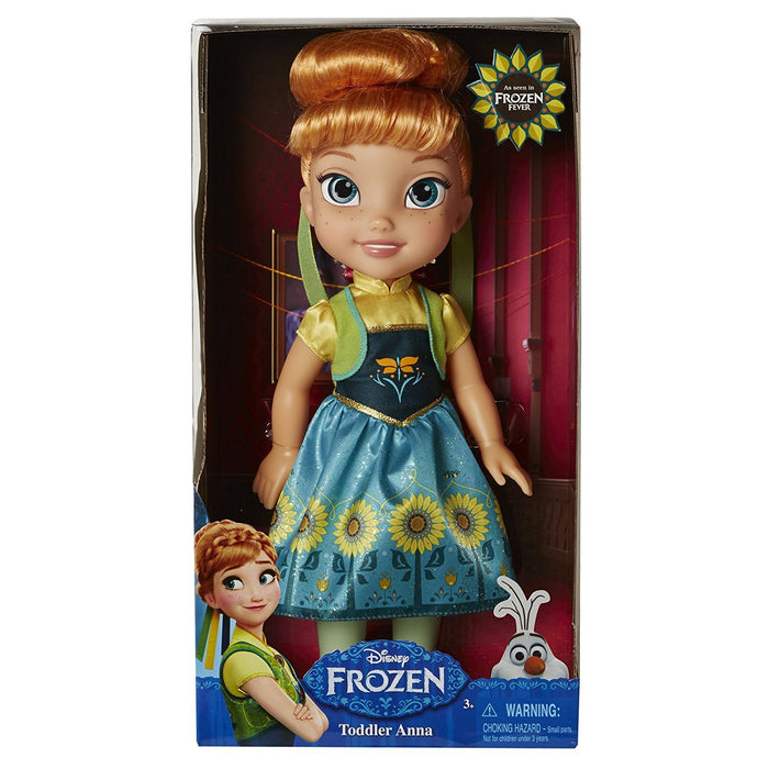 Frozen Fever Anna My First Toddler Doll (Multi-Colour)