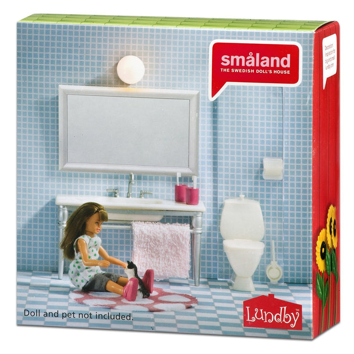 LUNDBY Smaland Bathroom Furniture Playset