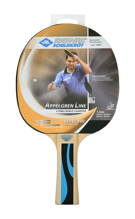 Donic Schildkrot Appel Gren 300 Table Tennis Bat - White