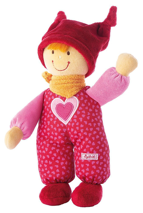 Sigikid 24 x 10 x 6 cm Puppen Baby Doll (Red)