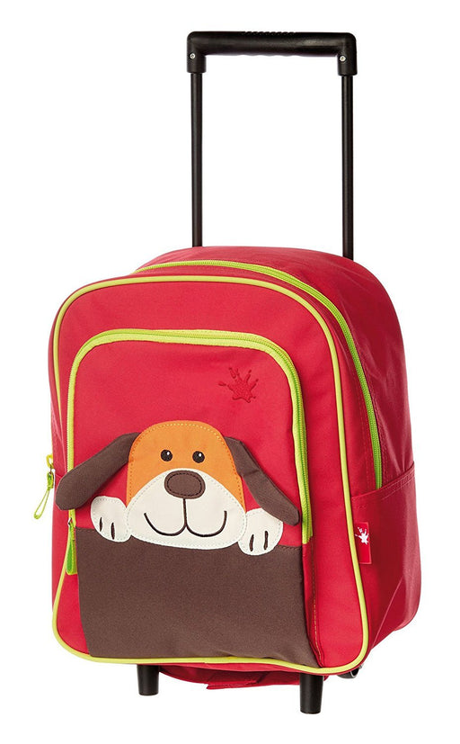 Sigikid 24652 30 x 26 x 12 cm Trolley Dog Mini Suitcase with Wheels