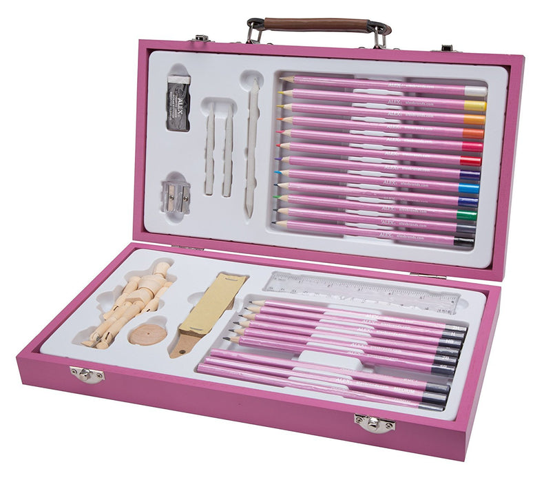 ALEX Art Studio Expressions Drawing & Sketch Case Set