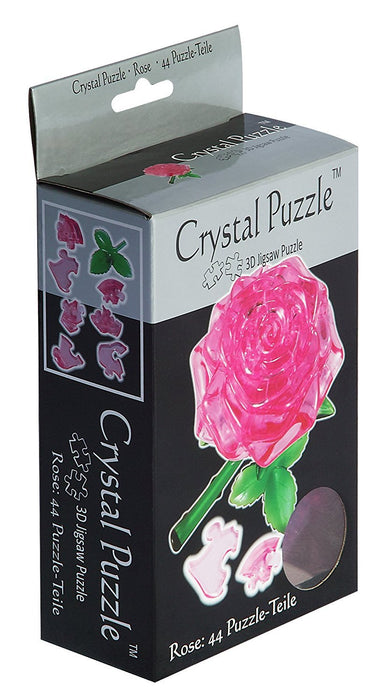 "HCM ""Rose"" Crystal Puzzle (44-Piece, Pink)"